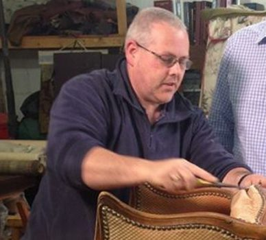 Gregory Cupitt-Jones (Principal Tutor) – UPHOLSTERY