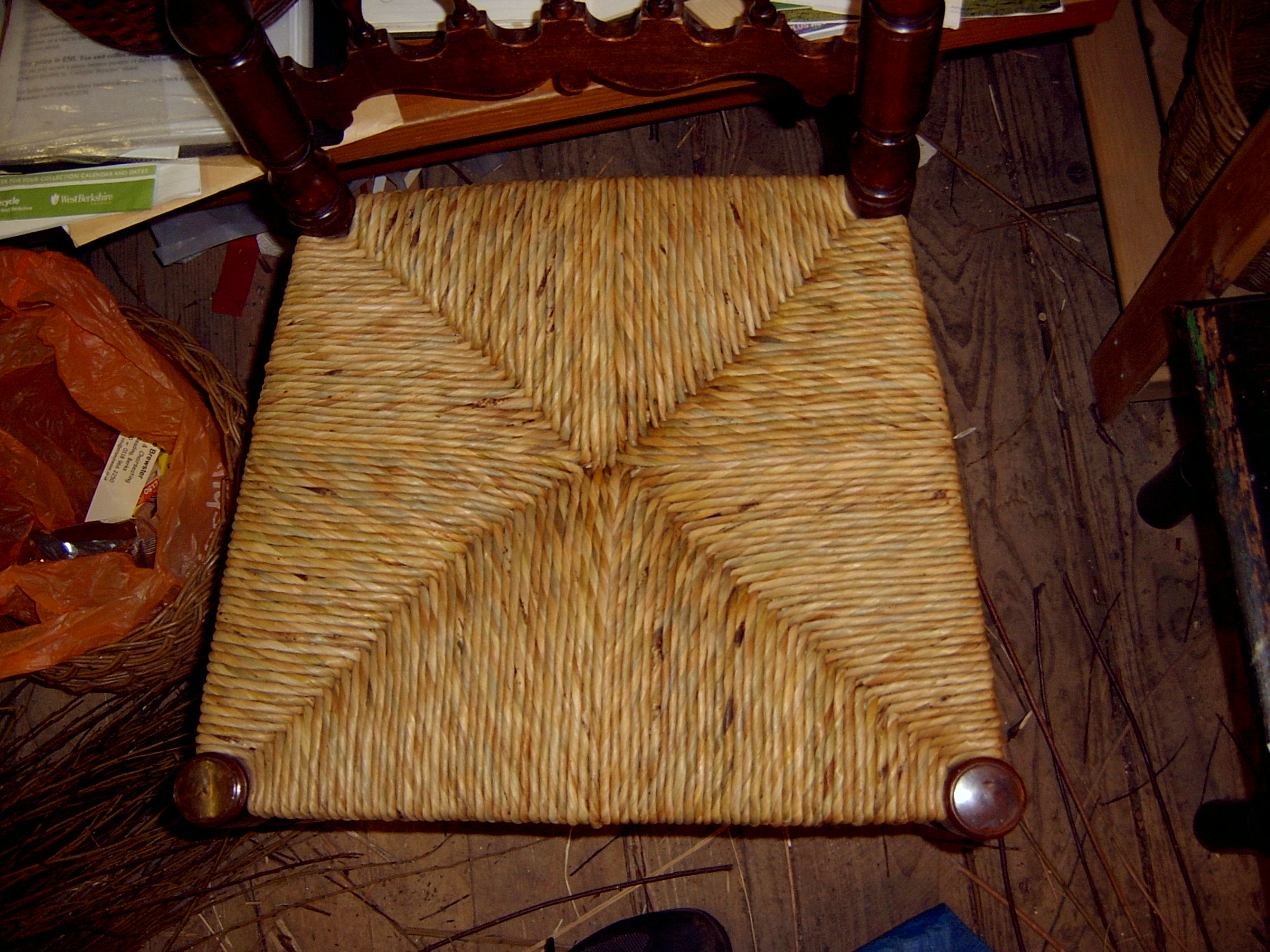 Chair Caning and Rushing