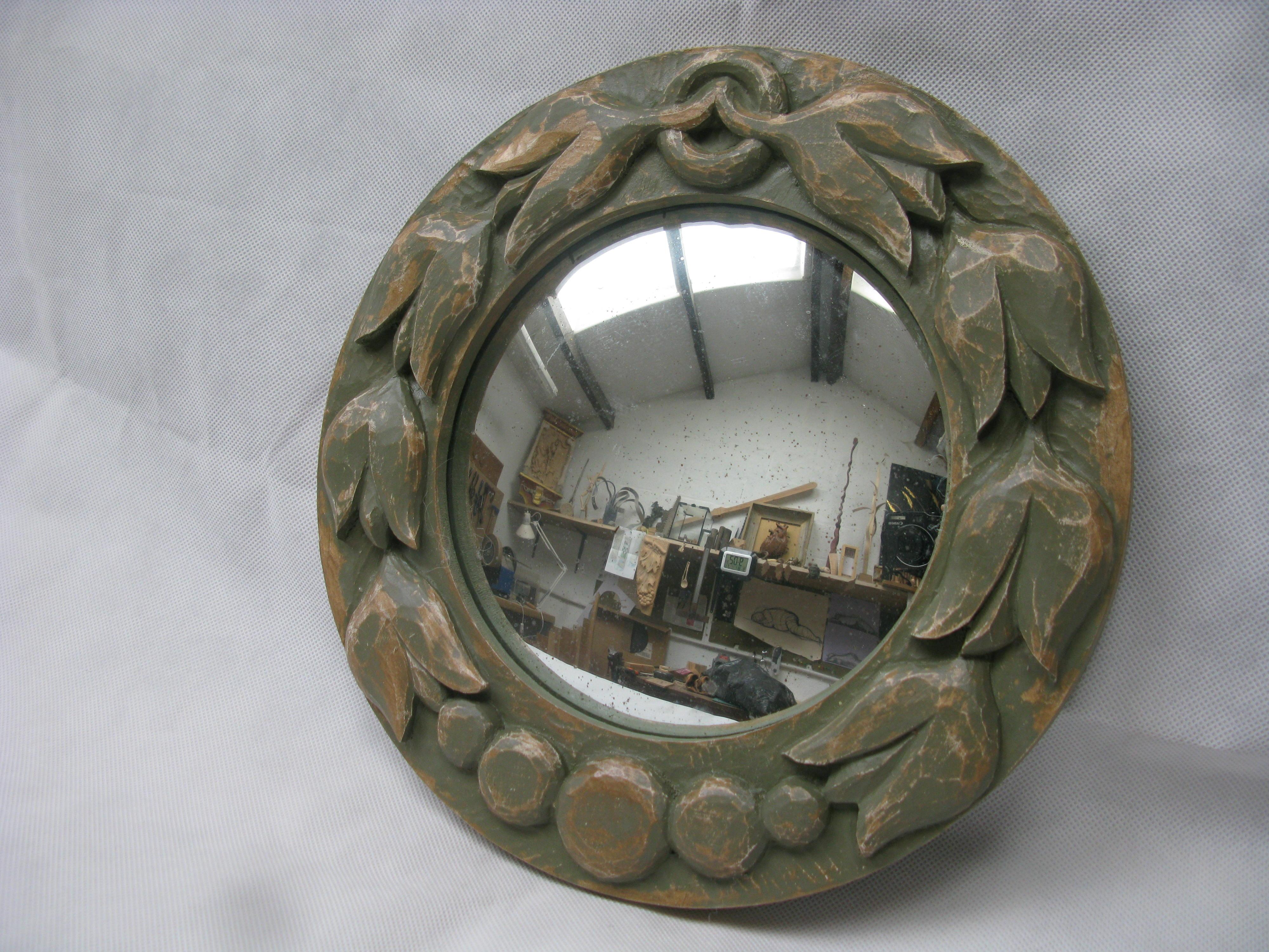 Advanced Carving – Circular Mirror Frame