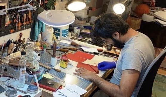 Rishir Patel – Leather Work